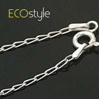 ●ECO安珂●【Esn008】義大利925純銀項鍊18吋~水滴細銀鍊