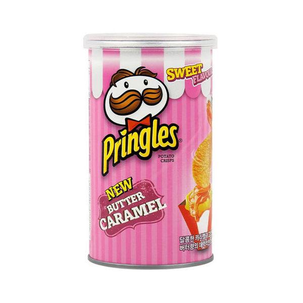 PRINGLES 品客 洋芋片 53g 奶油焦糖 粉紅品客 韓國限定 【庫奇小舖】