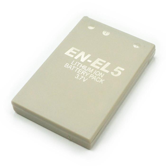 Nikon EN-EL5 ENEL5 相機電池 3700 4200 P5100 5200 5900 7900 P3 P4 S10 P6000 P100 P500 P510 1150mAh