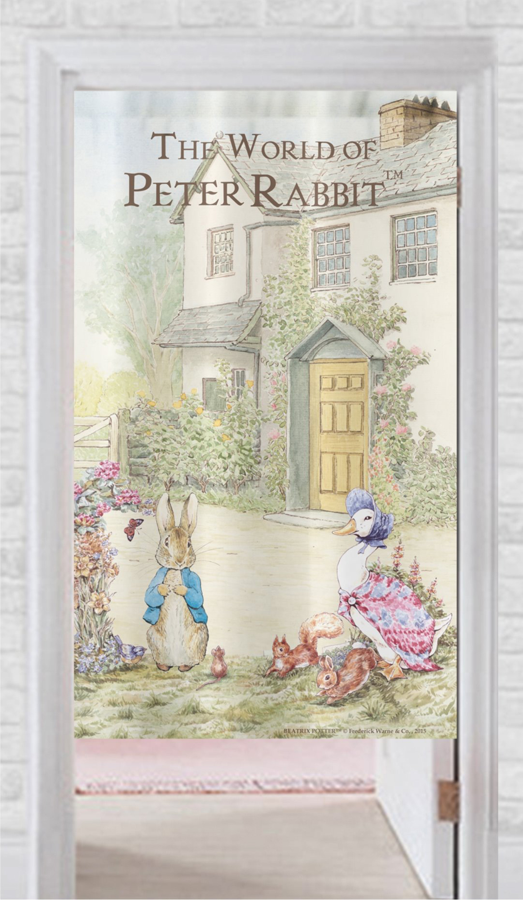 《Annie's Friends》Peter Rabbit 比得兔長門簾【立兔】