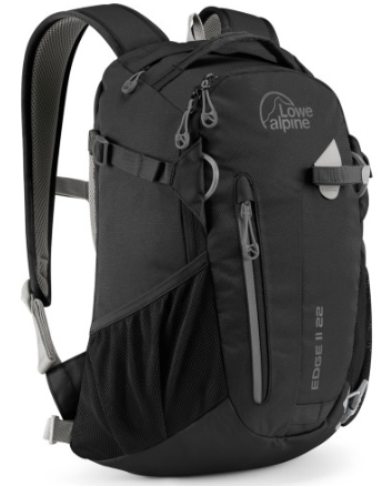 ├登山樂┤Lowe alpine Edge II 22L 休閒健行後背包 黑 # FDP5022B