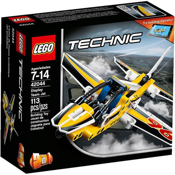 【LEGO 樂高積木】Technic 科技系列 - 小組表演噴射機 LT-42044