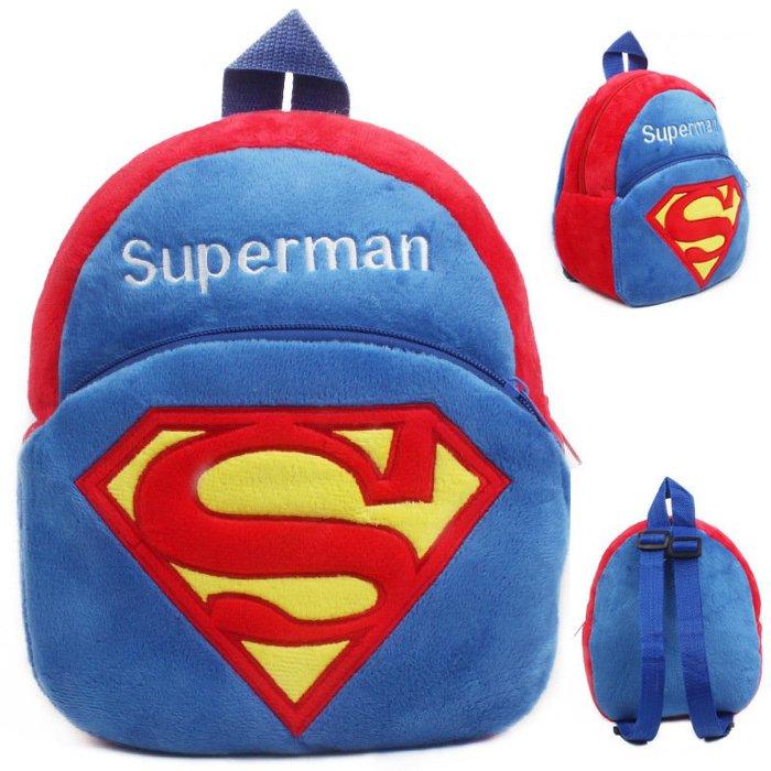 =優生活=超人 superman 兒童書包 小後背包 幼稚園書包 寶寶背包