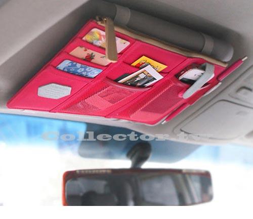 【T13091401】韓版 多功能遮陽板收納掛包 車用掛袋 雜物收納袋 置物袋