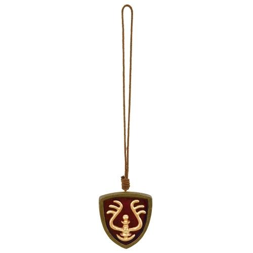 【真愛日本】16070600026吊飾-天空之城徽章紅   守城機器人 LAPUDA 天空之城 吊飾 鑰匙圈 飾品
