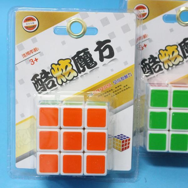 魔術方塊 酷炫魔術方塊 標準比賽級魔術方塊 5.7cm X 5.7cm(白底)/一個入{定100}