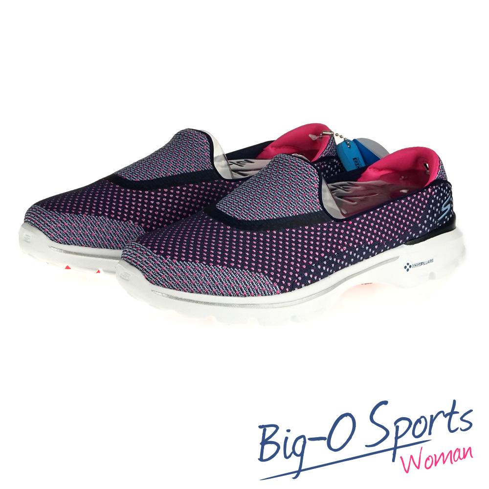 SKECHERS GO WALK 3 健走系列 女 14060NVPK Big-O Sports
