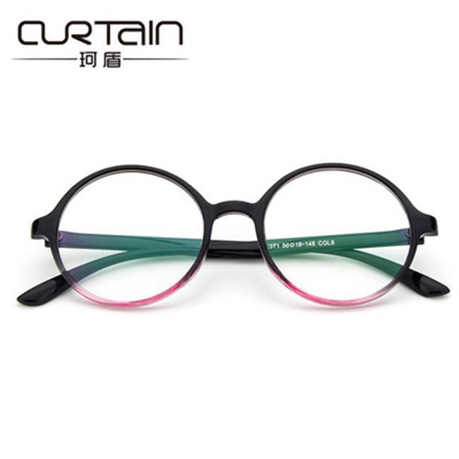 50%OFF【J021152GLS】復古圓框清新眼鏡框2371 潮人時尚框架鏡 阿拉蕾平光鏡百搭眼鏡架
