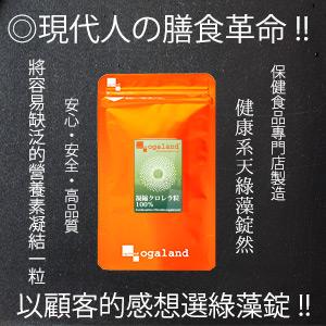 綠藻錠 天然 健康系 日本進口【體驗1個月份】