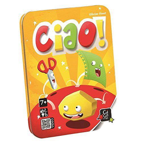 【 法國桌神 Gigamic 桌遊】Ciao! 剪刀石頭布 GIG047 (桌遊系列滿千加送棒打老虎雞吃蟲)