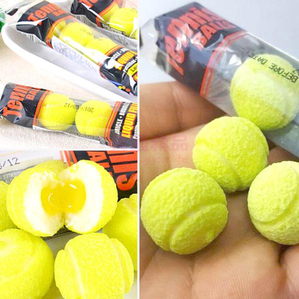 韓國 Fini Tennis 網球口香糖 網球造型 (萊姆口味) 20g/單條【特價】§異國精品§