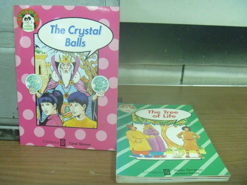 【書寶二手書T7/語言學習_IPX】The Crystal Balls_The Tree of Life等_9本合售