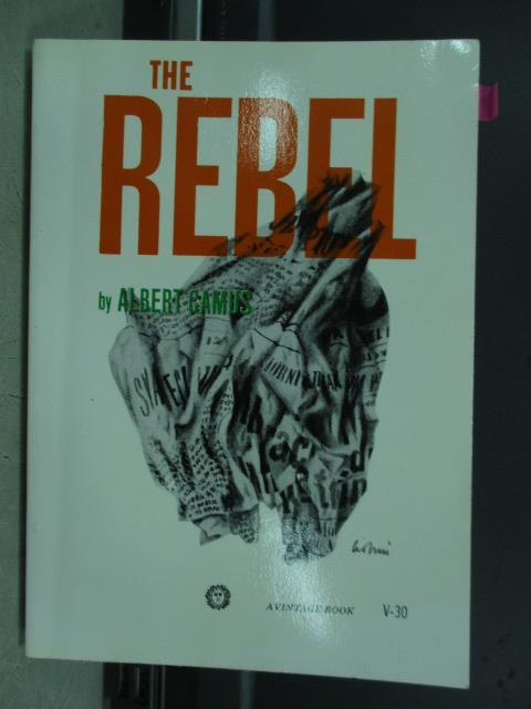 【書寶二手書T8/原文小說_JBL】The rebel_Albert camus