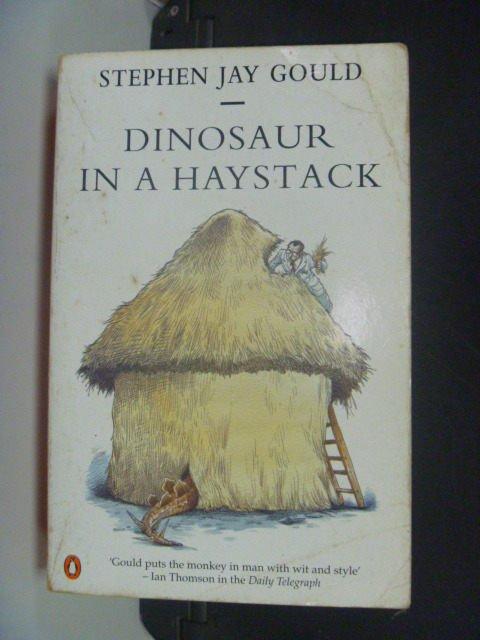 【書寶二手書T4/原文書_IKB】Dinosaur in a haystack _GOULD