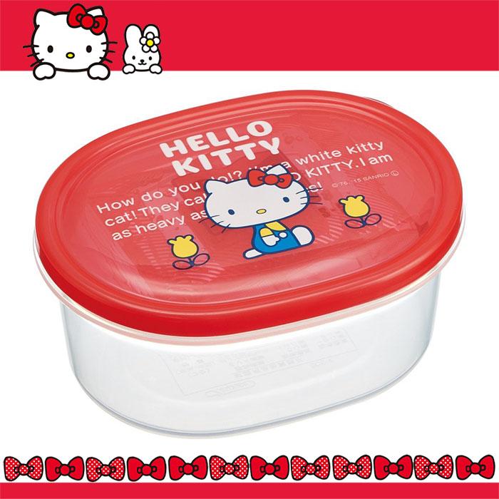 大田倉 日本進口正版 HELLO KITTY凱蒂貓 塑膠 保冷 便當盒 飯盒 保鮮盒 附保冷劑 316845