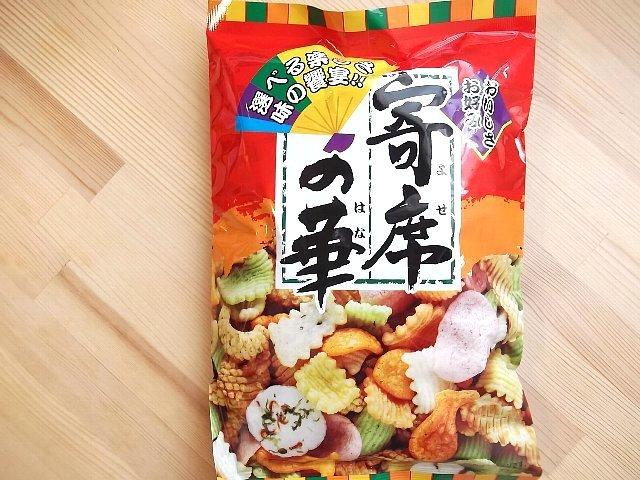 有樂町進口食品 神田製菓本舗寄席の華 綜合仙貝 J40 4973096000864