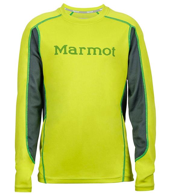 【鄉野情戶外用品店】 Marmot |美國| Windridge 短袖排汗衣/運動上衣 機能衣/52560 【兒童款】
