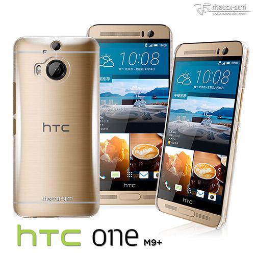 【UNIPRO】Metal-Slim HTC One M9+ 高抗刮PC透明系列保護殼 奈米防刮塗層 M9 plus