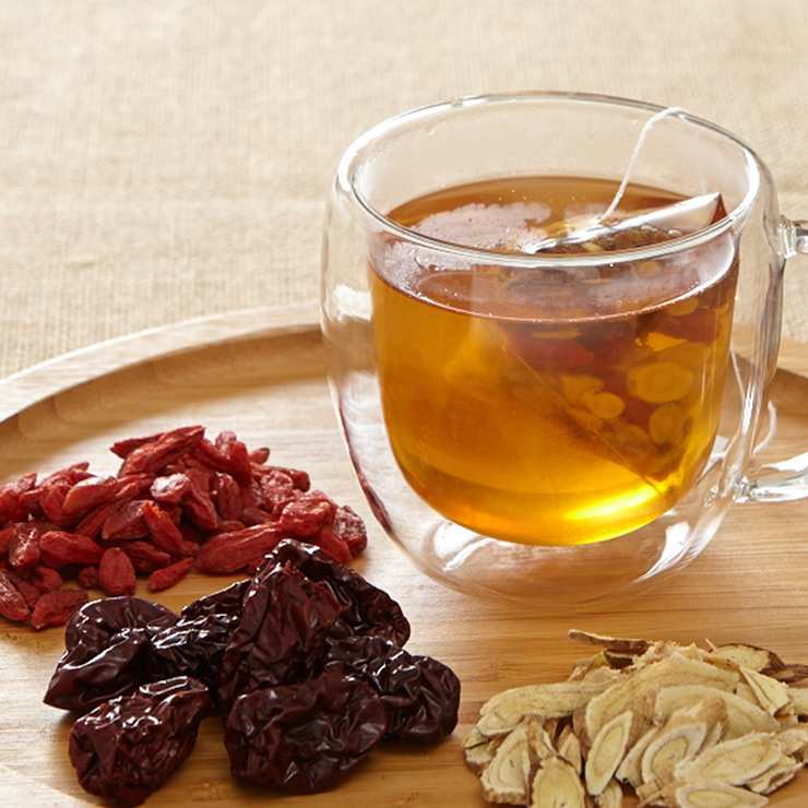 【謙善草本】有機漢方養氣茶(12入/盒)★茶飲養身好簡單