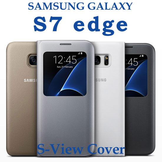 【東訊公司貨-透視感應皮套】三星 Samsung Galaxy S7 edge G935FD 原廠視窗皮套/智能保護套/側掀蓋殼