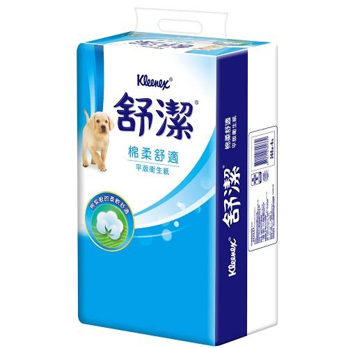 【舒潔】優質抽取衛生紙110抽(12包x6串)/箱x2