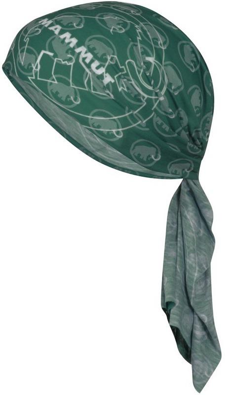 Mammut 長毛象 透氣排汗頭巾 Zion 1090-03591-4544 松綠