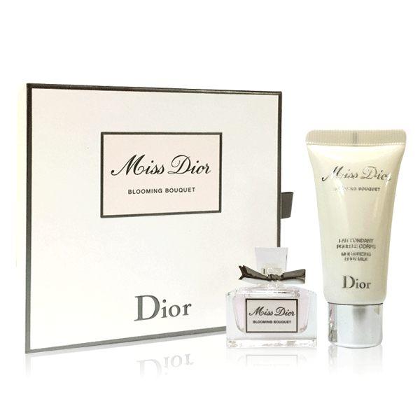 Dior 迪奧 Miss Dior 花漾迪奧 精巧香氛禮盒(香水5ml+身體乳20ml)《Belle倍莉小舖》