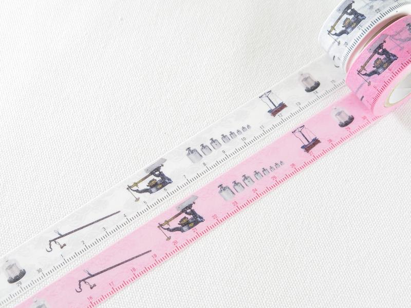 *小徑文化*| 台灣原創 | 國立科學工藝博物館 - 度量衡紙膠帶組 ( WH )