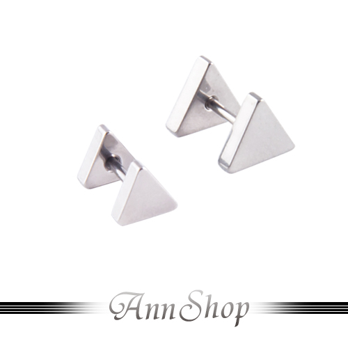 AnnShop【素面三角I型環•316L鋼】人體另類穿洞s240-s240-1