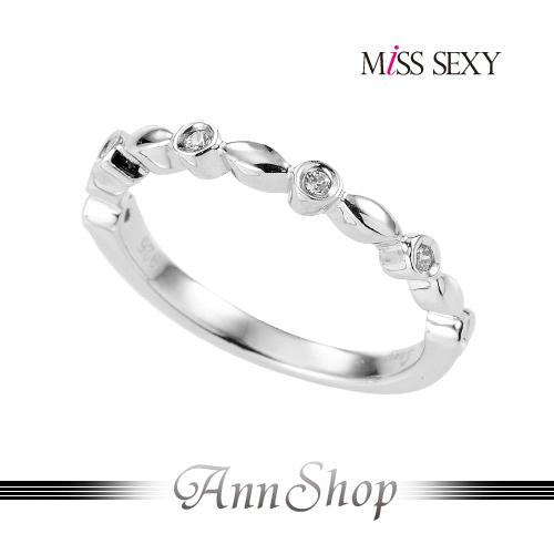 AnnShop【MiSS SEXY•真情告白925純銀戒指】【單個】情人禮品MG064