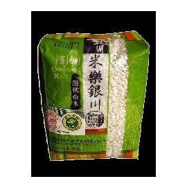 銀川 有機圓糯米(白) 600g
