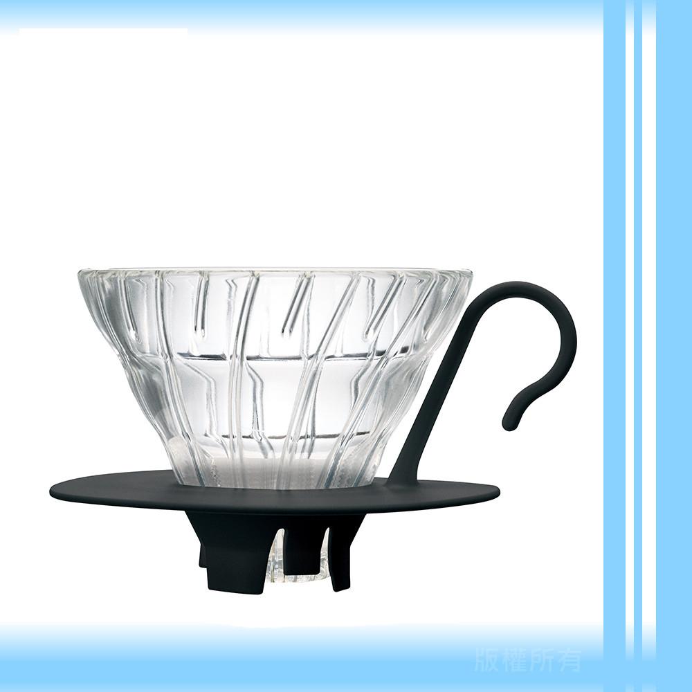 【日本】HARIO 01系列玻璃濾杯(經典黑)