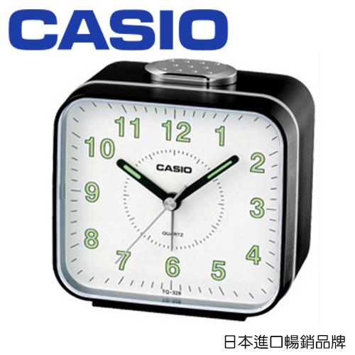 CASIO 卡西歐 TQ-328 時尚桌上型鬧鐘 / 個 (顏色隨機出貨)