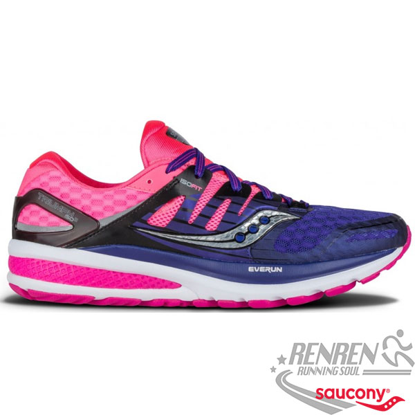 SAUCONY KINVARA 7 女慢跑鞋 (紫粉) 排水快乾 舒適 耐磨