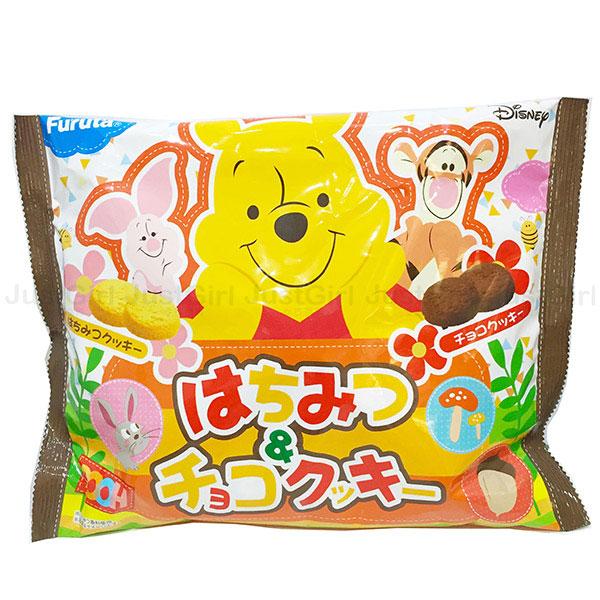 迪士尼 小熊維尼 餅乾 古田Furuta  蜂蜜 巧克力 日本製造進口 * JustGirl *