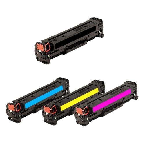 【台灣耗材】HP 環保碳粉匣 HP 312A (CF380A黑色,CF381A藍色,CF382A黃色,CF383A紅色) 單支任選 (黑色標準量2,400張 彩色標準量2,700張) 適用HP Color LaserJet Pro M476dn,M476dw,M476nw雷射印表機