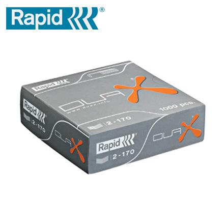 缺貨中 RAPID 瑞典 DUAX 重型訂書機專用訂書針 /盒