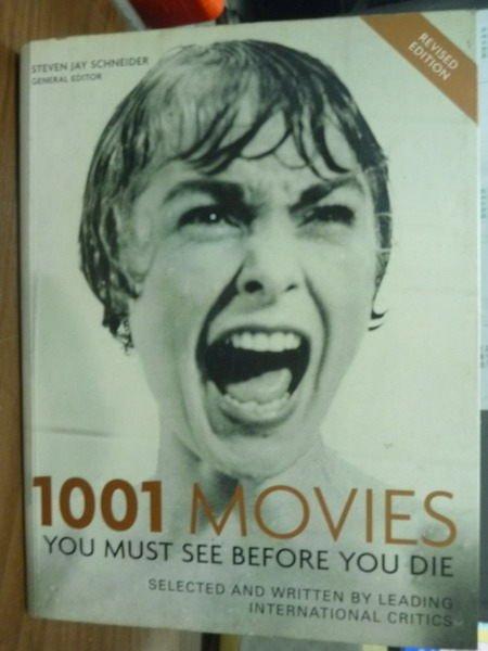 【書寶二手書T9/原文書_PPN】1001 Movies_Steven Jay Schneider