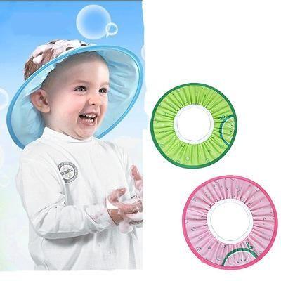 寶寶洗髮帽 洗頭帽 沐浴帽 彈性可調 RA3184