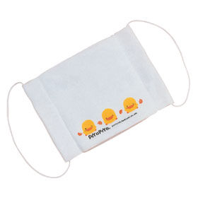 『121婦嬰用品館』黃色小鴨 紗布小口罩