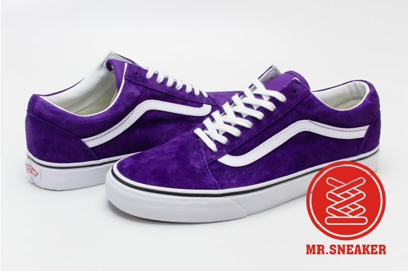 ☆Mr.Sneaker☆ VANS x 3M Old Skool scotchgard 防水 防汙 麂皮 百搭 滑板鞋  基本款 男款 紫色