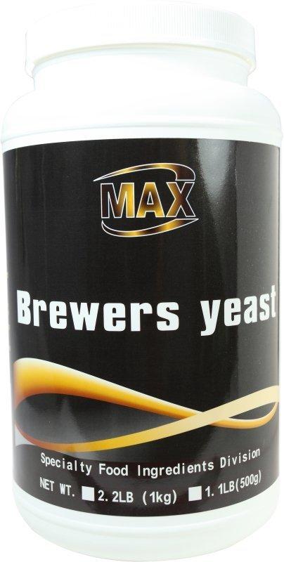 MAX 麥斯 破壁啤酒酵母粉 1KG/瓶 歐盟進口 100%破壁
