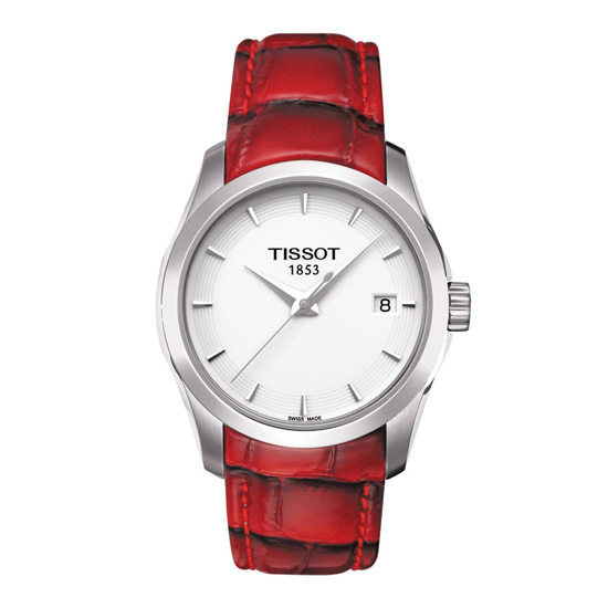 TISSOT天梭T0352101601101 建構師優雅經典石英腕錶/白面32mm