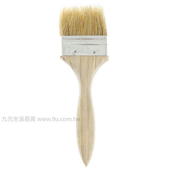 【九元生活百貨】2吋油漆刷 木柄刷