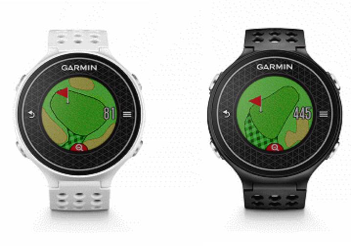 Garmin Approach S6 高爾夫GPS腕錶 黑/白