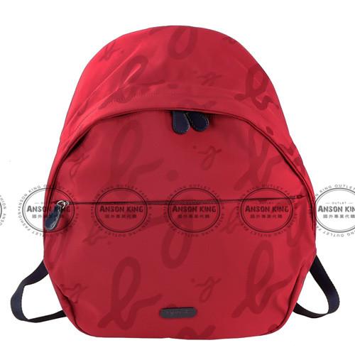 Outlet代購 agnes.b 字母後背包 小b (紅色) 另有四色 書包 通勤包 雙肩包 斜挎包 防水