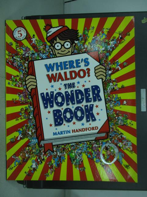 【書寶二手書T1/少年童書_QAU】Where's Waldo?The Wonder book5