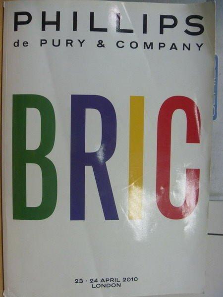 【書寶二手書T9/藝術_YAP】PHILLIPS_2010/4/23-24_BRIC