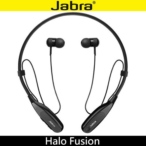 Jabra Halo Fusion 頸後式立體聲藍牙耳機 ◆入耳耳塞,有效阻隔噪音