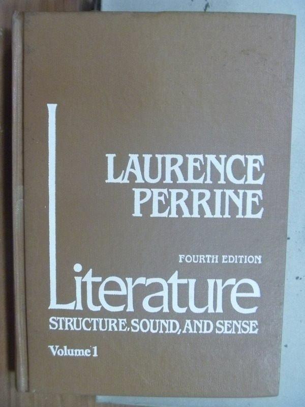 【書寶二手書T5/原文小說_HKW】Literature Structure,sound Vo1_Laurence